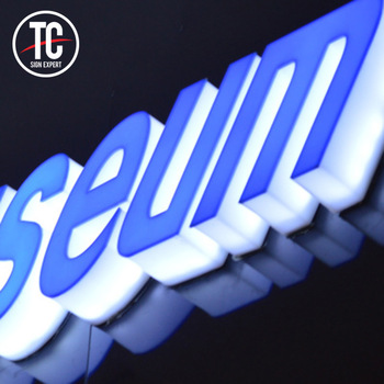 Channel letters 3d acrylic illuminated signs custom led letter sign