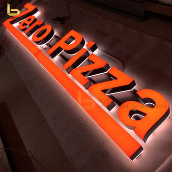 Factory Supply Acrylic Profile Channel Letter 3D LED Letters Sign with Low Price
