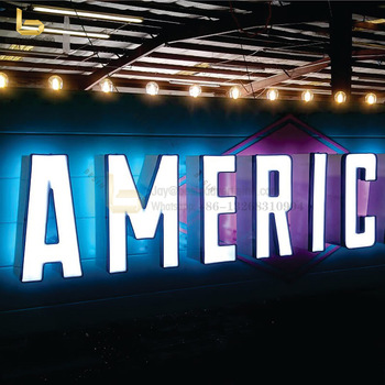 Factory Outlet Acrylic 3D LED Channel Letters Sign for Indoor and Outdoor