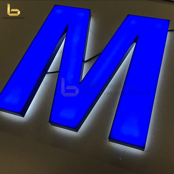 High Popular Used Lighted Signs DIY 3D Letters LED Sign for Company Names