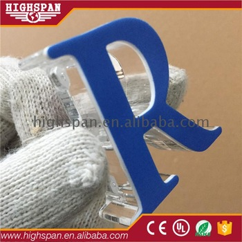 Factory direct supply outdoor advertising acrylic board office wall signs new arrival cheap led