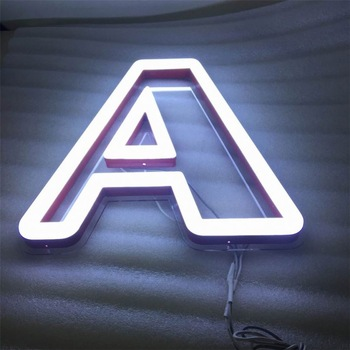 China Factory Abs Wall Mounted Acrylic Neon Sign