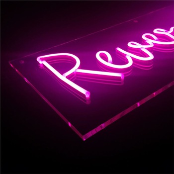 Factory Supplier Led Lighting Neon Sign For Sale