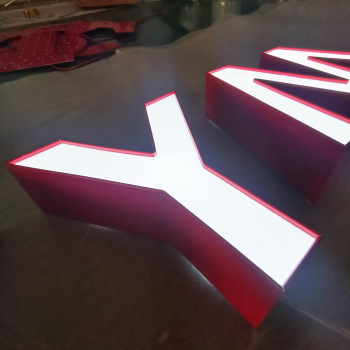 Indoor Wall Rgb Acrylic Word Waterproof Luminous Letter Light