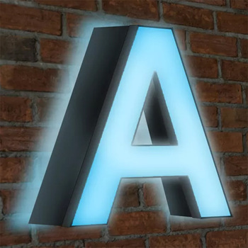 Popular led exquisite dual lit acrylic letter advertising for store