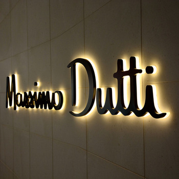 Manufacturer hot sale custom made store front lighting signs