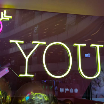 Manufacturer wholesale hot sale custom made led neon letters
