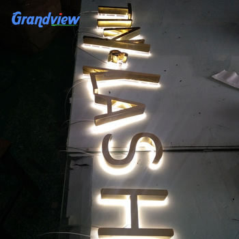 Family wall sign led house sign/ metal welcome apartment sign