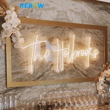 Most Popular Customized Acrylic Neon Led  Advertising Sign for Christmas Decoration
