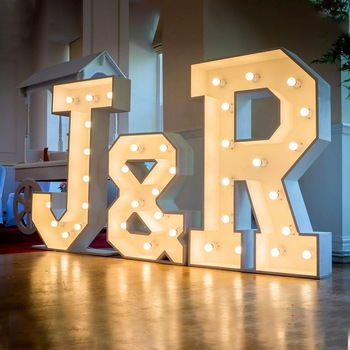 4ft led marquee letter love marquee led light sign letters wedding giant large light up letters