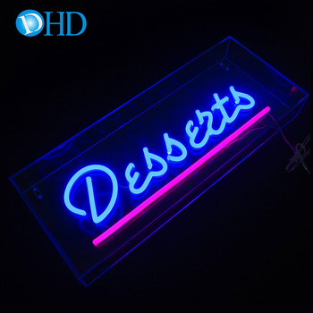 Customized Deled sign pizza neon led sign for led open sign