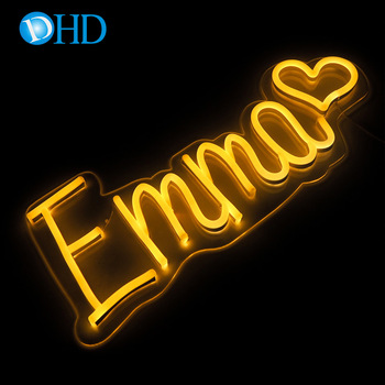 High quality custom soft led neon wholesale led neon sign decor bar store