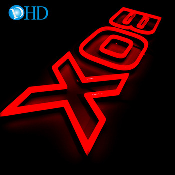 Hanging custom acrylic small love led neon light letter sign for bar