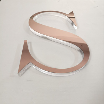 Low Cost Factory Direct Custom Laser Cut Acrylic Signage signs LED Logo