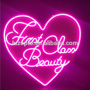 acrylic laser cut LED custom wedding neon sign by chinese manufacturer