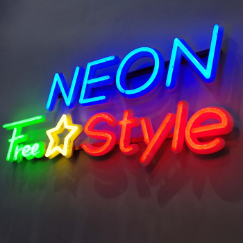 Acrylic Neon Sign Outdoor Lighting Signage 3D Channel Neon Sign Letters
