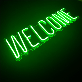 China custom electronic neon sign acrylic neon letter for decoration