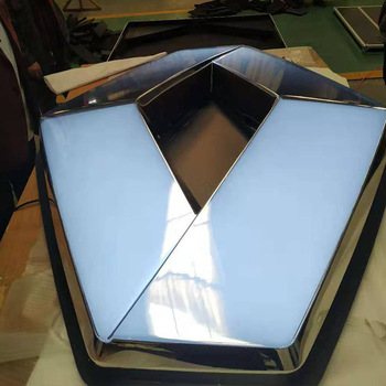 Chrome thermoforming vacuum forming acrylic auto signs