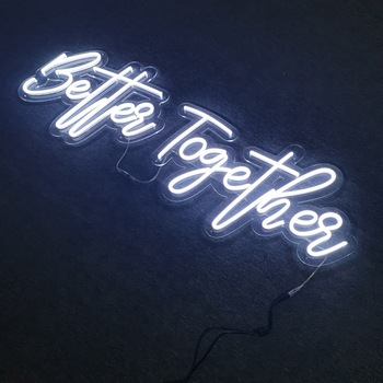 High Brightness Led Strip Light source and Acrylic Material led neon sign