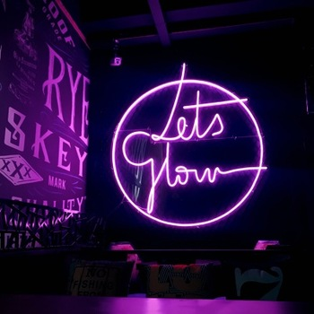 Custom Outdoor Open Bar Wedding Letters Glass Acrylic Led Neon Sign Light Neon Sign
