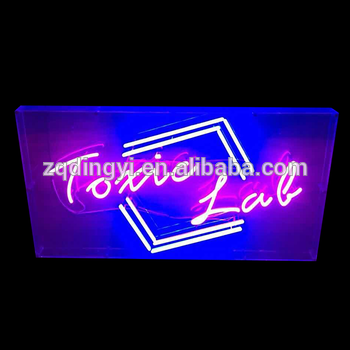 professional factory custom shops stores rgb color neon advertising display acrylic LED sign board lights