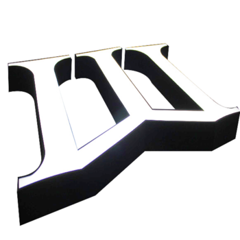 3D Sign Hotel Frontlit Signage Letters Factory Signs Acrylic Outdoor Indoor Directional Signage Building Led Signage