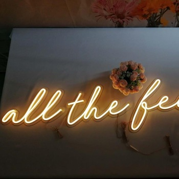 Custom Led Neon Sign,hot sale Neon Sign Table