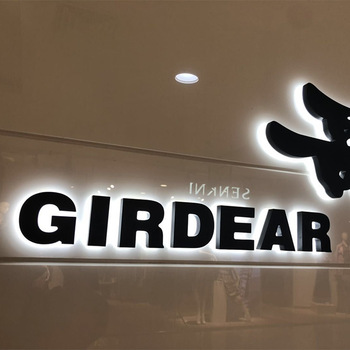 waterproof 3d custom acrylic led channel lettersign storefront business sign