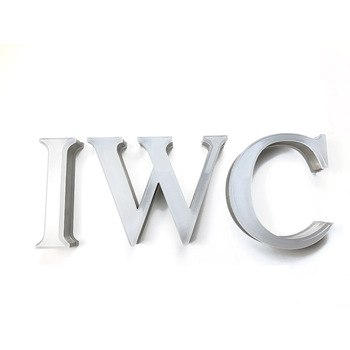 3d led channel  wall hanging sign light acrylic stainless steel side letter