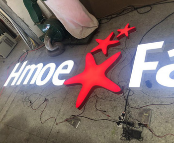 Factory Directly aluminum sign board led channel