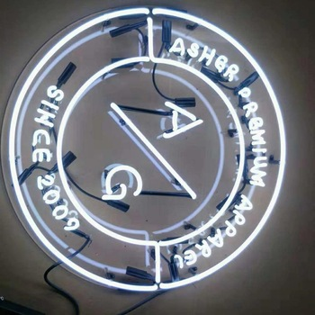 Best quality acrylic neon light factory custom led neon logo lighting sign