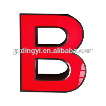 professional led advertising signs aluminum channel outdoor large led letters for signs