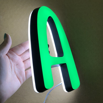 2019 High Quality 3d acrylic mini letters waterproof led acrylic channel letter for indoor