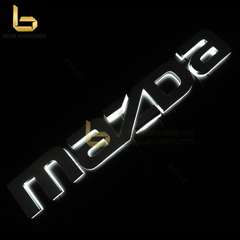 Factory Hot Sale 3D Backlit Letter Signs for Company advertising