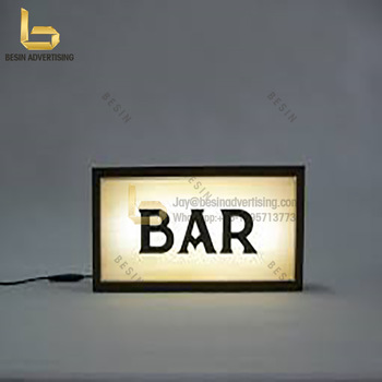round light box signs outdoor advertising standing digital photo frame