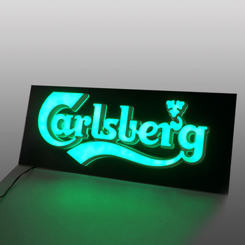 Led Edge Lit Logo 3D Acrylic Channel Letters Outdoor Waterproof Led Box Sign