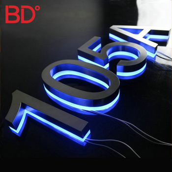 Advertising lighting led word signs large led outdoor sign