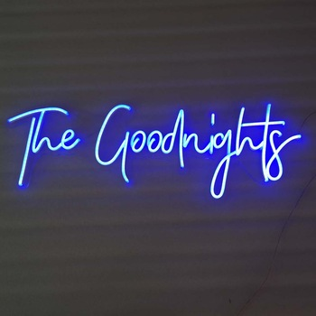 2020 Custom Advertisement Decorations Clear Outdoor Led Neon Light Sign