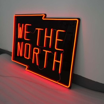 flexible neon signs display hanging neon light words big letters with lights for sign