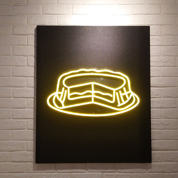 3D physical custom neon led sign low-consumption letter channel light sign