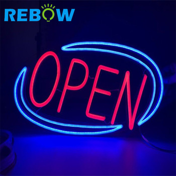 Outdoor open led signs used open signs letter led for advertising shops