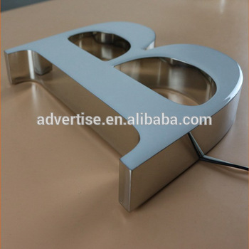 Hot epoxyresin lighted for store cabinet advertising Outdoor Bright Luminous Characters Epoxy Resin LED Sign Channel Letter