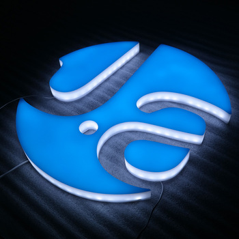 LED Sign Exposed Luminous Characters/letters/words character letters led acrylic sign