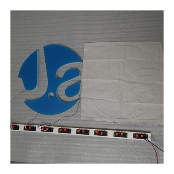Custom business outdoor advertising high acrylic led alphabet letter quality 3D led acrylic letters signage