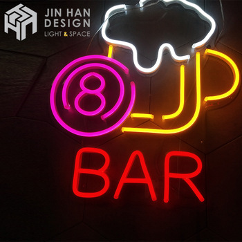 Outdoor Waterproof led neon flex sign led acrylic decorative sign led neon sign light