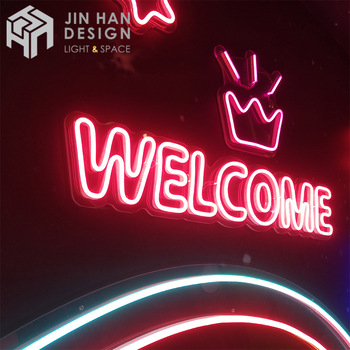 Custom LED flexible neon sign high brightness neon sign custom led