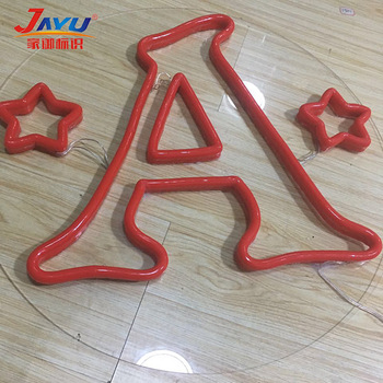 advertising decoration outdoor flexible acrylic vivid led neon flex sign letters board custom led neon sign