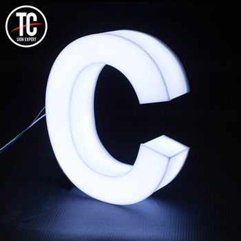 LED Light Letter Aluminum Led Letter Lights Electronic Led Sign