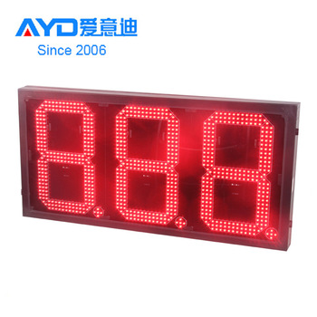 2018 Petrol / Gas Station Led Gas Price Sign, Gas Price Led Changer