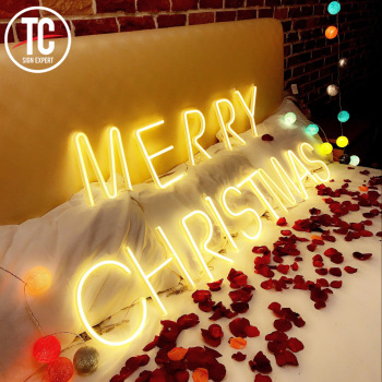 Free Writing Decoration Custom Neon Sign Letter Special for you